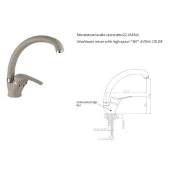 copy of Miscelatore lavabo SEI
